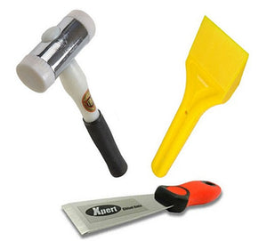 Glazing Kit - Xpert Chisel, Glazing Paddle and Thor Hammer from Xpert - Virtual Plastics Ltd.