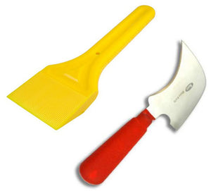 Glazing Kit - Glazing Paddle and Half Moon Glazing Knife from Eurocell - Virtual Plastics Ltd.