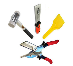 Glazing Kit - Xpert Chisel, Glazing Paddle, Thor Hammer and Gasket Shear SK2 from Eurocell - Virtual Plastics Ltd.