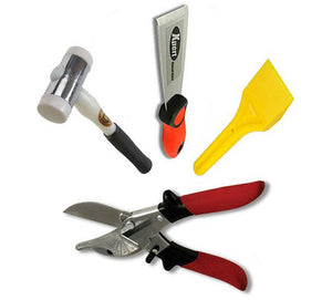 Glazing Kit - Xpert Chisel, Glazing Paddle, Thor Hammer and Gasket Shear SK5 from Eurocell - Virtual Plastics Ltd.