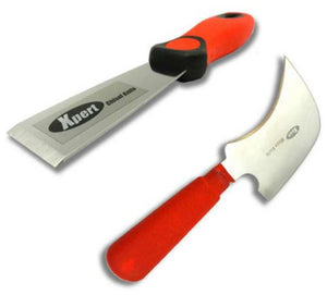Glazing Kit - Xpert Chisel and Half Moon Glazing Knife from Eurocell - Virtual Plastics Ltd.