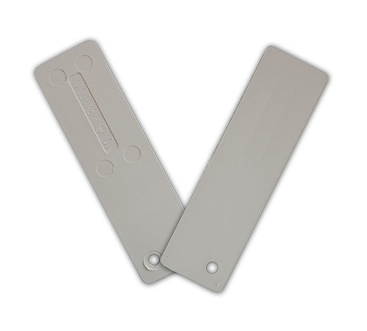 Window Glazing Packers / Flooring Spacers - 1mm x 28mm from Eurocell - Virtual Plastics Ltd.