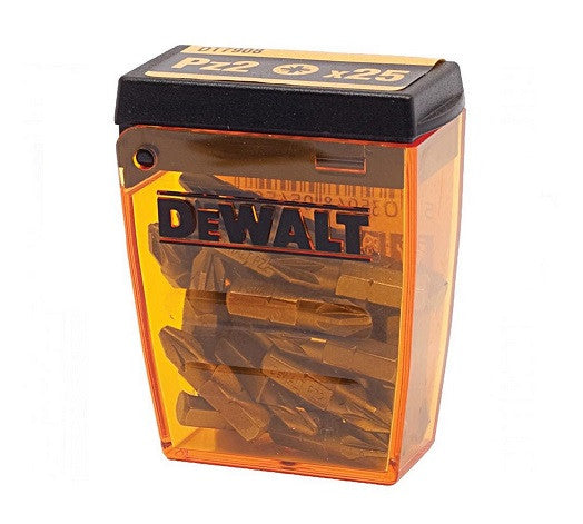 Dewalt DT7908 POZI 2 PZ2 (Phillips) Screwdriver Bits from Dewalt - Virtual Plastics Ltd.
