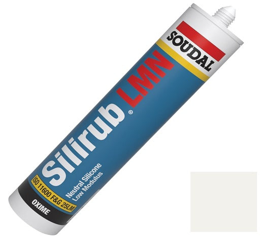 Silicone Sealant 300ml - Various Colours from Soudal - Virtual Plastics Ltd.