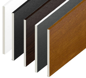 Flat Soffit UPVC Utility Boards 9mm x 5m