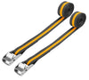 Tolsen Industrial Tie Down Ratchet Straps - 2 x 2.5m 100KG Roof Lashing Straps from Tolsen - Virtual Plastics Ltd.