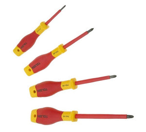 Tolsen Insulated 15 Piece Hand Tool Set - 1000V Electrical Screwdrivers, Pliers & Voltage Tester from Tolsen - Virtual Plastics Ltd.