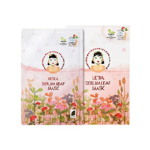 [A by BOM] Ultra Serum Leaf Mask 5ea