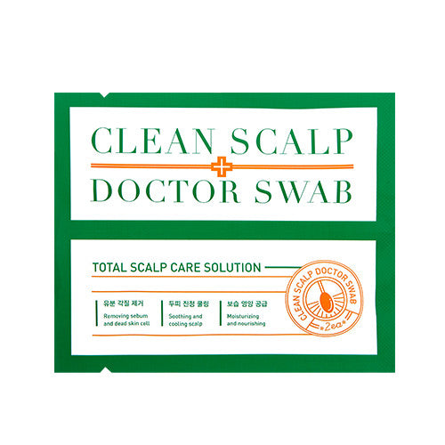 [A'PIEU] Clean Scalp Doctor Swab 10ml (5ml x 2) - Cosmetic Love