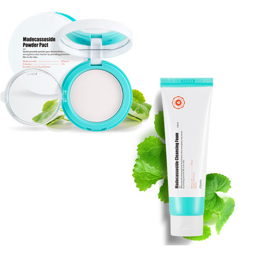 [SET][A'PIEU] Madecassoside Powder Pact 6g+Cleansing Foam 130ml