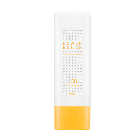 [A'PIEU] Power Block Daily Sun Cream SPF50+ PA++++ 50ml