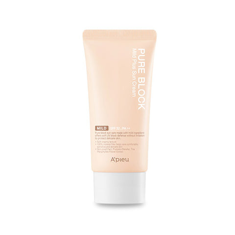 [A'PIEU] Pure Block Mild Plus Sun Cream SPF32 PA++ 50ml