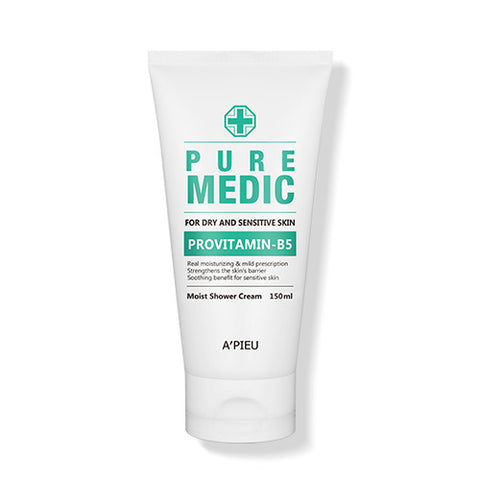[A'PIEU] Pure Medic Moist Shower Cream 150ml - Cosmetic Love