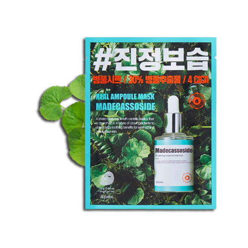 [A'PIEU] Real Ampoule Mask Madecassoside 24g