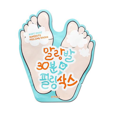 [A'PIEU] Soft Foot 30 Minute Peeling Socks 20ml - Cosmetic Love