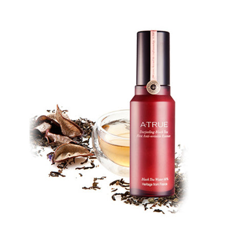 [ATRUE] Darjeeling Black Tea First Anti-wrinkle Essence 40ml - Cosmetic Love