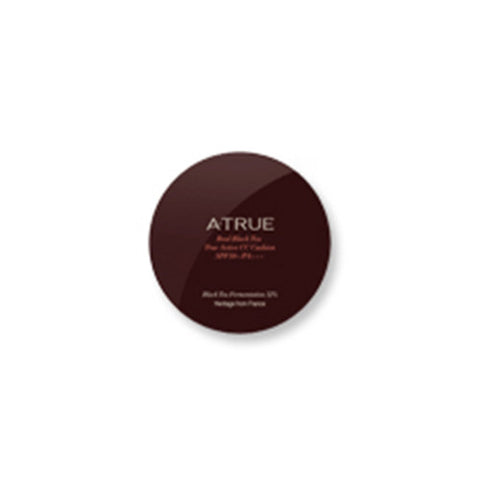 [ATRUE] Real Black Tea True Active CC Cushion 12g - Cosmetic Love