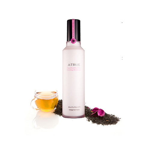 [ATRUE] Rose Petal Black Tea Enriching Moisturizer 120ml - Cosmetic Love