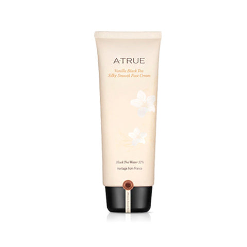 [ATRUE] Vanilla Black Tea Silky Smooth Foot Cream 100ml - Cosmetic Love