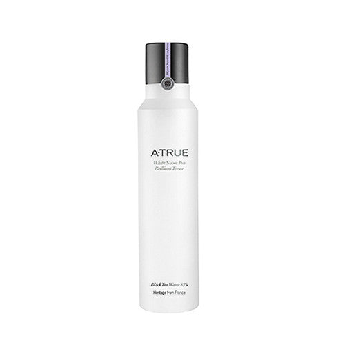 [ATRUE] White Snow Tea Brilliant Toner 180ml - Cosmetic Love