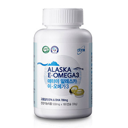 [Atomy] Alaska E-Omega3 550mgX180 - Cosmetic Love