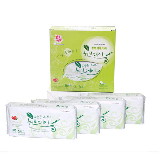 [Atomy] Herbday(Panty Liner) 1set(80ea) - Cosmetic Love