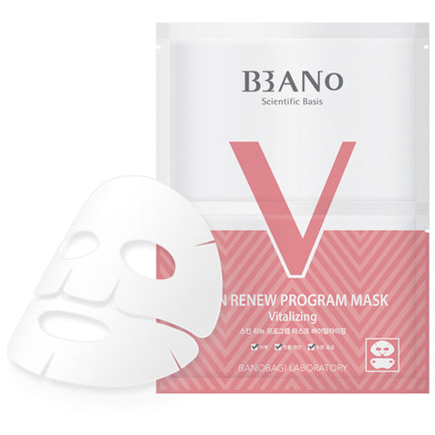 [BANO] Skin Renew Program Mask Vitalizing 10pcs