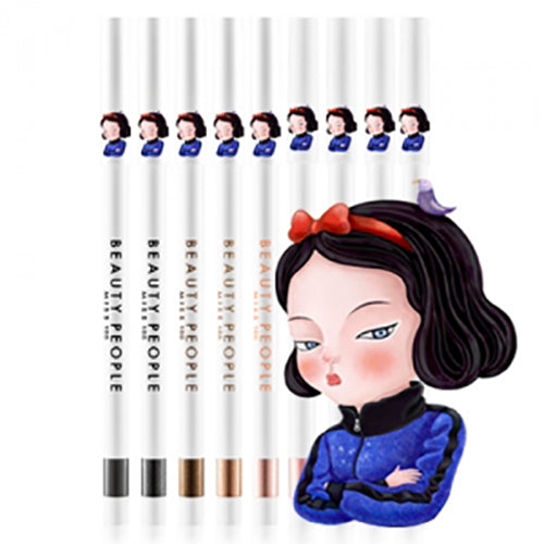 [Hot Sale] [BEAUTY PEOPLE] Miss 100 Auto Super Gel Pencil Eyeliner 0.5g #03 Real Brown