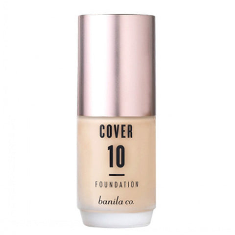 [Banila Co] Cover 10 Perfect Foundation SPF30/ PA++ 30ml - Cosmetic Love