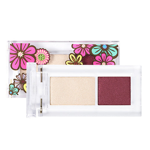 [Banila Co] Floral Seoul Harmony Two Eyes Shadow 4.4g - Cosmetic Love