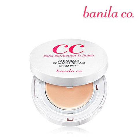 [Banila Co] It Radiant CC Cushion SPF35 PA++ 15g+15g(Refill) - Cosmetic Love