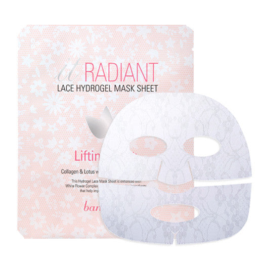 [Banila Co] It Radiant Lace Hydrogel Mask Sheet (Lifting) 30g - Cosmetic Love