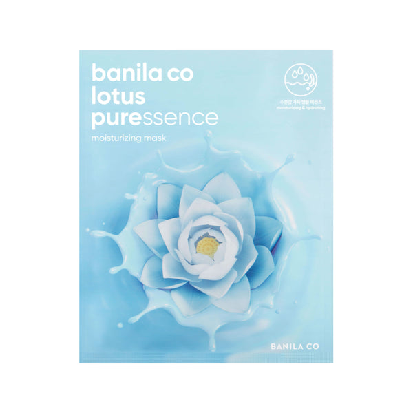 [Banila Co] Lotus Puressence Moisturizing Mask 25ml