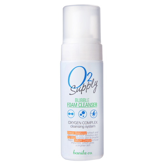 [Banila Co] O2 Supply Bubble Foam Cleanser - Cosmetic Love