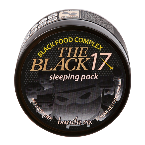[Banila Co] The Black 17 Sleeping Pack - Cosmetic Love