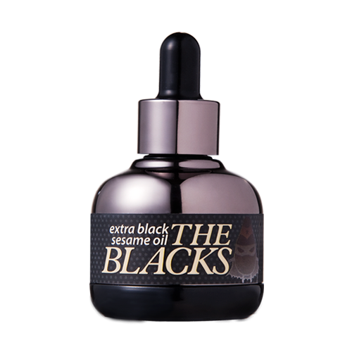 [Banila Co] The Blacks Extra Black Sesame Oil - Cosmetic Love