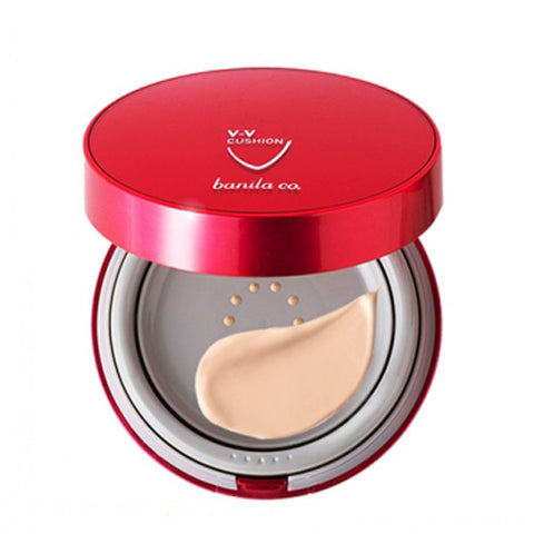 [Banila Co] VV Bouncing Cushion SPF50+/ PA+++ (Goods 15g+Refill 15g) - Cosmetic Love