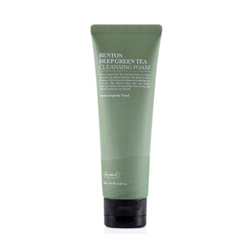 [Benton] Deep Green Tea Cleansing Foam 120g