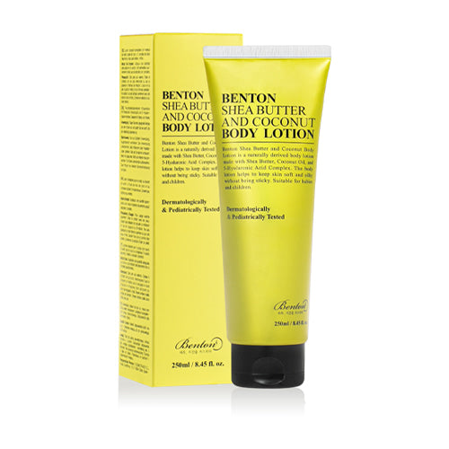 [Benton] Shea Butter & Coconut Body Lotion 250ml