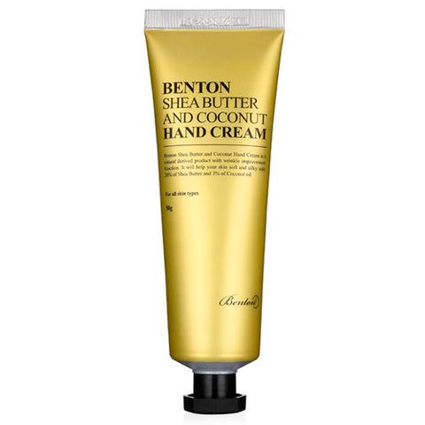 [Benton] Shea Butter and Coconut Hand Cream 50g - Cosmetic Love