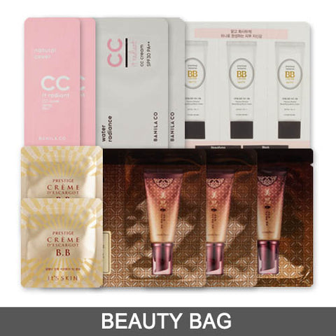 [Beauty Bag] 12 Kinds of BB & CC Cream Samples