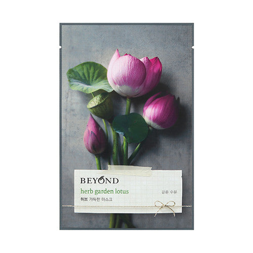[Beyond] Herb Garden Peony Mask Sheet 22ml - Cosmetic Love