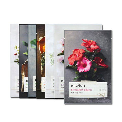 [Beyond] Herb Garden Peony Mask Sheet 22ml x 7PCS SET - Cosmetic Love