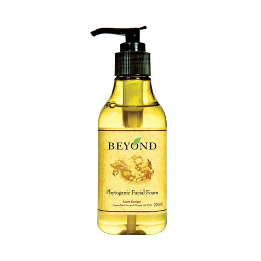 [Beyond] Phytoganic Facial Foam 200ml - Cosmetic Love
