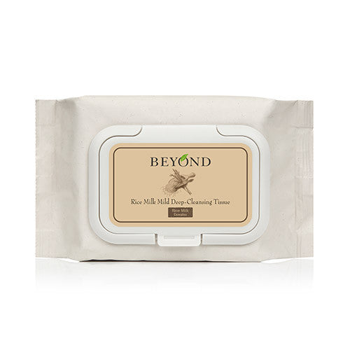 [Beyond] Rice Milk Mild Deep Cleansing Tissue - Cosmetic Love