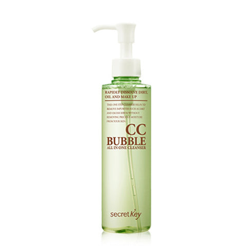 [Secret Key] CC Bubble All In One Cleaser 210g - Cosmetic Love
