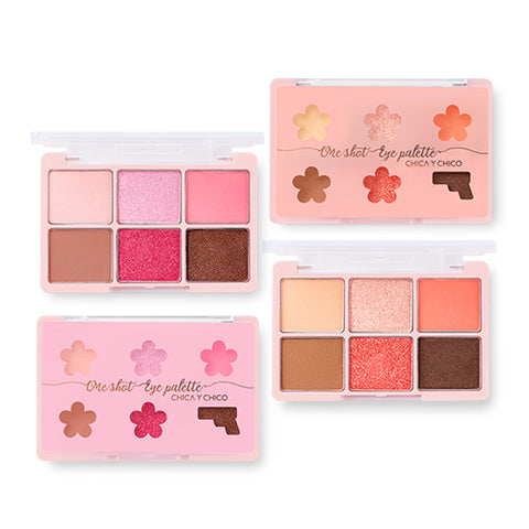[CHICA Y CHICO] 2018 Spring Edition One Shot Eye Palette 9g