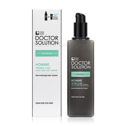 [Care Zone] Doctor Solution Homme All In One Gel Cream 160ml