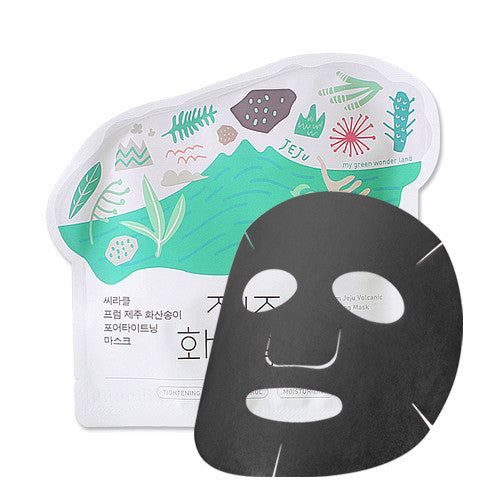 [Ciracle] Jeju Volcanic Pore-Tightenng Mask 21g x 5PCS - Cosmetic Love