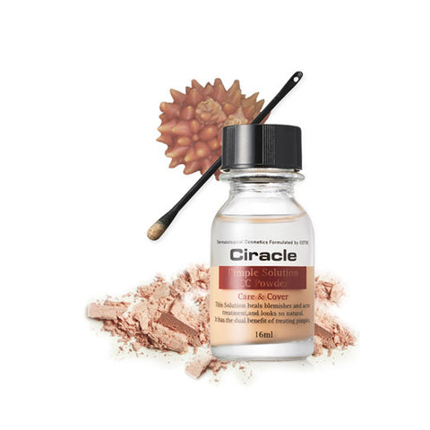 [Ciracle] Pimple Soultion CC Powder 16ml - Cosmetic Love